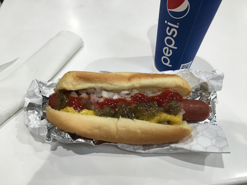 Costco Hot Dog Goodness