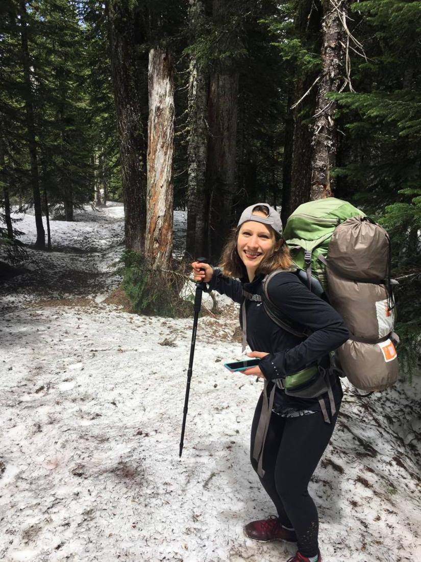 Backpacking in the Pacific Northwest Day Two