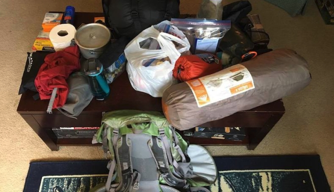 Backpacking in the Pacific Northwest Gear Packing List Pre