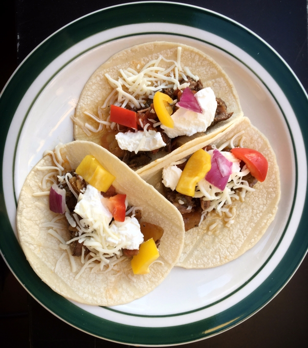 Barbacoa Beef Tacos from Gimme Some Oven