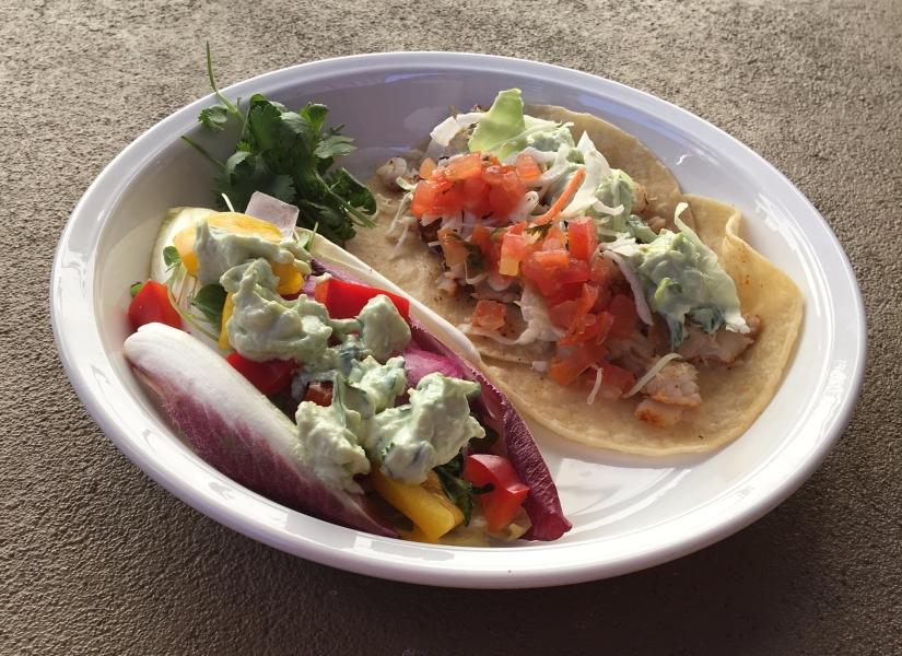 fish taco dinner