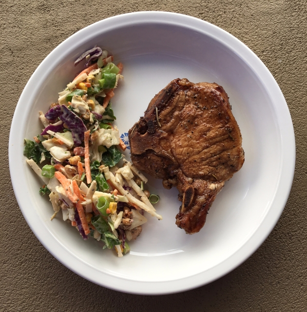 maple balsamic pork chops