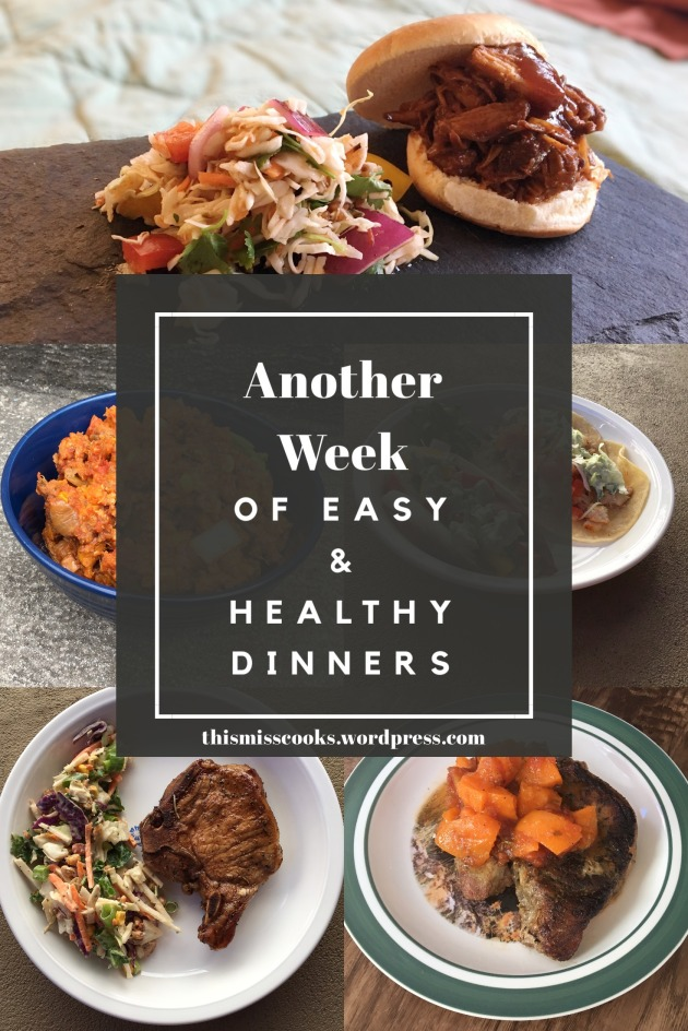 Another week of easy & healthy dinners with little planning | This Miss Cooks