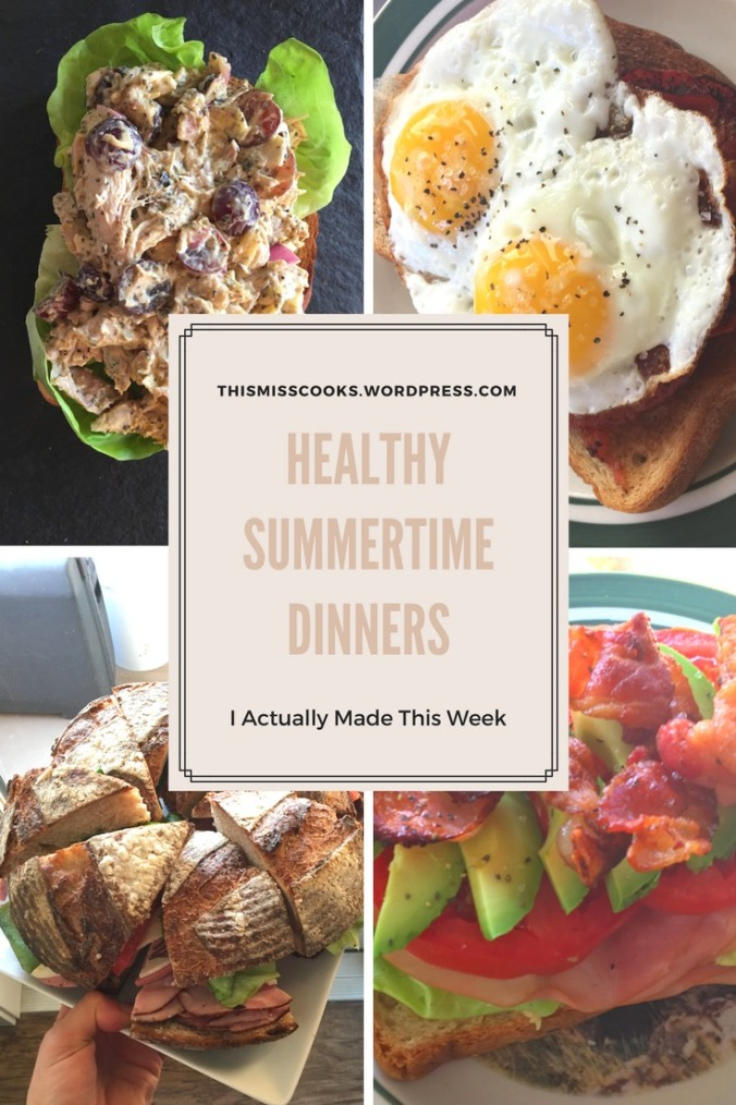 Healthy Summertime Dinners You can Actually Make During the Week | This Miss Cooks