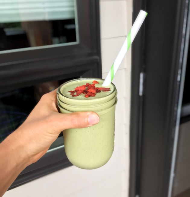 Matcha Tone It Up Protein Smoothie | This Miss Cooks