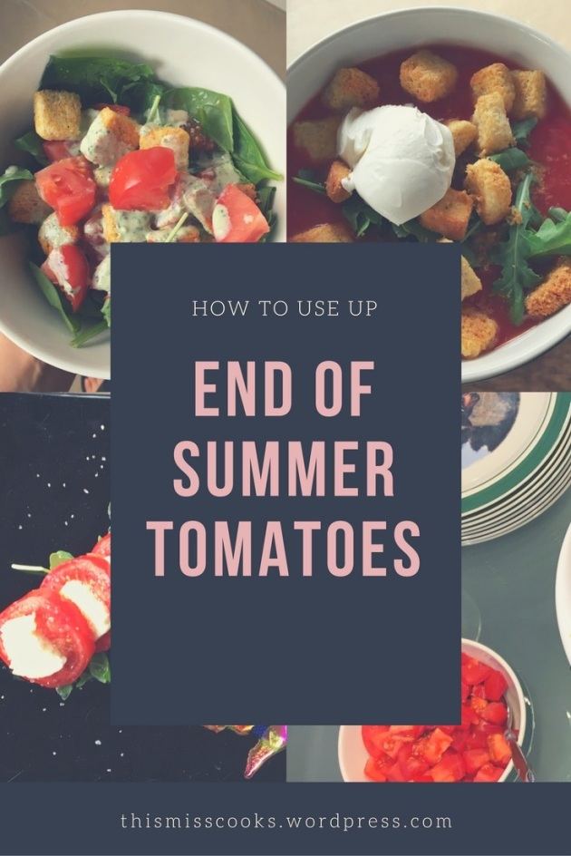 The Best Way to Use Up Those End-of-Summer Tomatoes | This Miss Cooks
