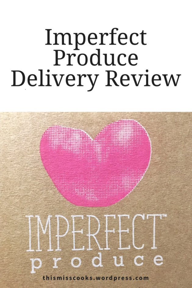 Honest Imperfect Produce Review | This Miss Cooks